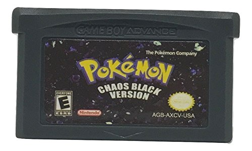 Pokemon Chaos Black Version Translation