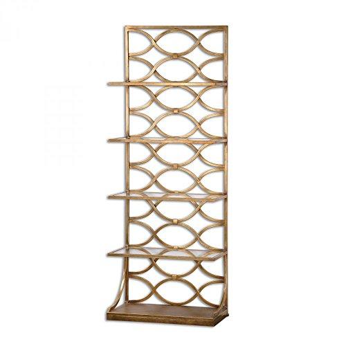 Price comparison product image Uttermost Lashaya Gold Etagere Model-24447