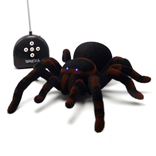 Remote Control Realistic Spider Prank Toys for Kids, Halloween Christmas Gift for Prank or Trick