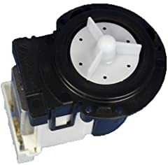 LG 4681EA2001T Washing Machine Drain Pump and Motor Assembly. For use with the following LG Electronics models: WM2650HRA, WM8000HVA. Refer to your manual to ensure ordering the correct, compatible part.