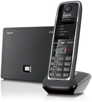 Gigaset C530 IP - Teléfono Inalámbrico con Tecnología IP, Compatible SIP, Manos Libres, Pantalla en color: Gigaset: Amazon.es: Electrónica