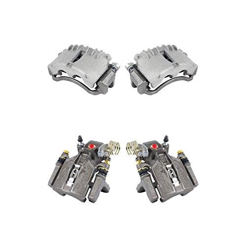 CCK11430 FRONT + REAR [4] Premium Grade Semi-Loaded OE Caliper Assembly Set Kit [ SN95 ]