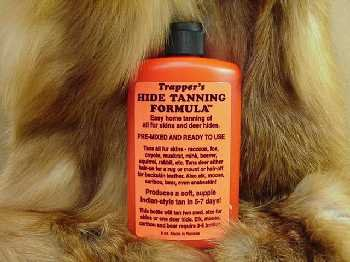 Deer hide tanning kit