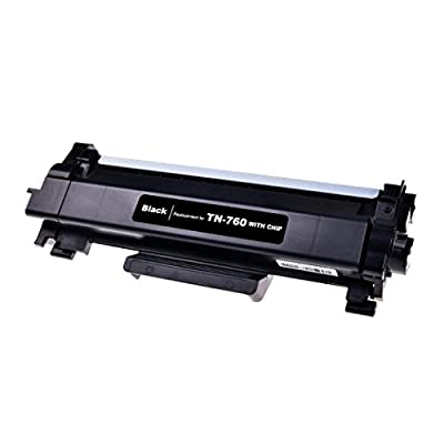 myCartridge Compatible Toner Cartridge Replacement Brother TN760 TN-760 TN730 TN-730 (1 Black) CHIP