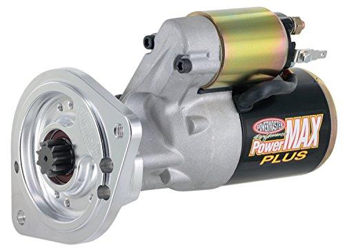 - Powermaster Performance 9000-5 PowerMAX Plus Starter (Ford [BB] w/Billet Black 351M-400-429-460-164T,176T,180T,184T Flyw 14:1 Natural)