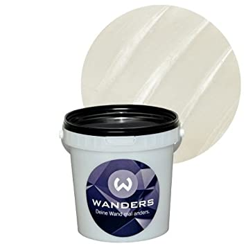 Wanders24 Metall-Optik (1 Liter, Perlmutt) Effektfarbe, Wandfarbe ...