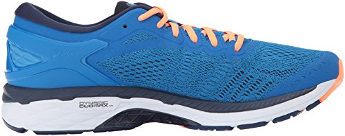 Kayano Peacoat Orange 24 Gel Directoire Hot Laufschuh Asics Synthetik Blue 5P0xOR