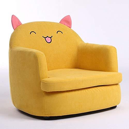- Fvfvfv Sponge Kids Mini Sofa Children Armchair Seating Chair Relax Playroom Seater Girl Princess Pink (Color : B)