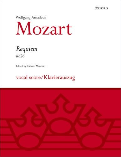 Requiem: Vocal score (Classic Choral Works) - Mozart Requiem Sheet