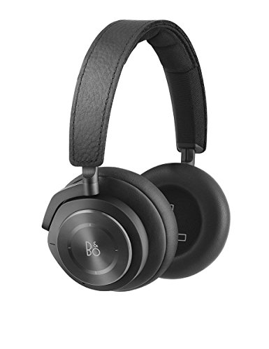 Bang & Olufsen Beoplay H9i Wireless Bluetooth Over-Ear Headphones with Active Noise Cancellation, Transparency Mode and Microphone – Black (Renewed)