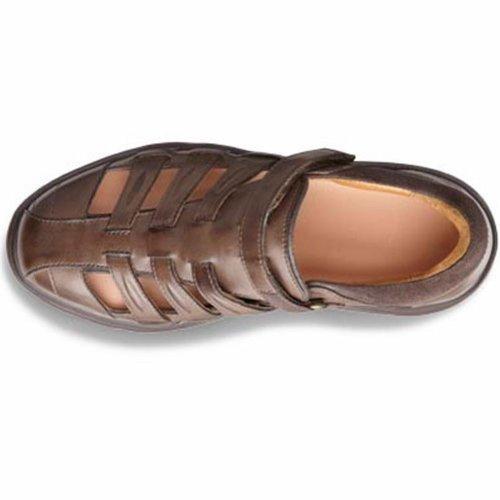 Dr. Comfort Breeze Dames Therapeutisch Diabetisch Extra Diepte Sandaal Leer Velcro Zwart