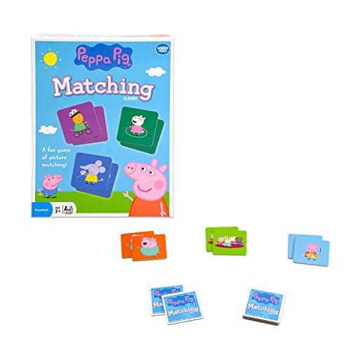 Wonder Forge Peppa Pig Matching Game for Boys & Girls Age 3 to 5 - A Fun & Fast Piggy Memory Game (Game Wonder Matching Forge)