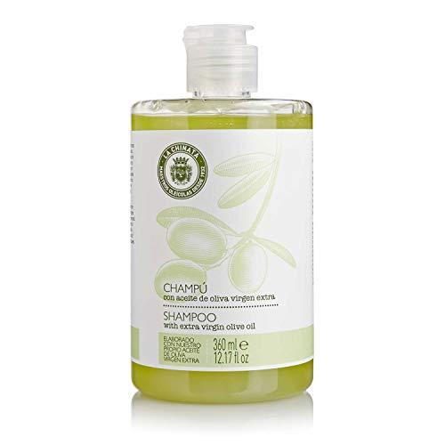 Champú REGENERADOR con Aceite de Oliva Virgen Extra 360 ml 12.7 fl/oz/Extra Virgin Olive Oil Shampoo