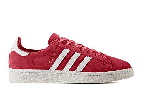 adidas Originals Women's Campus W Sneaker, Core Pink Crystal White, (9.5 Medium US) (Adidas Retro Women)
