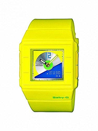 CASIO BABY-G BGA-201-9EER - Reloj analógico y digital con correa de resina para mujer y niño/niña, color amarillo: Amazon.es: Relojes