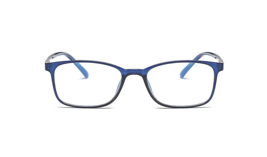 DAUCO Lenti Trasparenti Retro Montatura Occhiali da vista