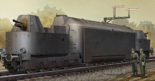 TRUMPETER 223 1/35 German Armored Train Panzertriebwagen Nr.16 by Trumpeter