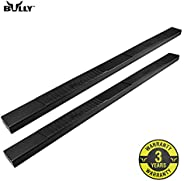 """Bully BS-08S78-B048 6"""" Wide Nerf Bar Black 05-18 Toyota Tacoma Double Cab Truck Running B"""