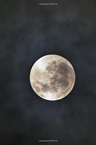 Full Moon in the Night Sky Journal: 150 Page Lined Notebook/Diary ebook