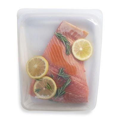Stasher - Bolsa de almacenamiento de alimentos reutilizable ...