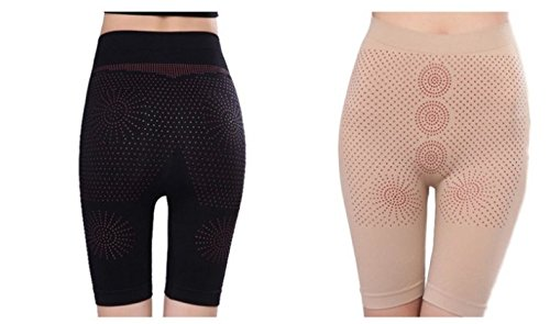 d9aa17f4d2 Image Unavailable. Image not available for. Color  Long Leg Body Shaper  Magnetic Infrared Slimming Pant