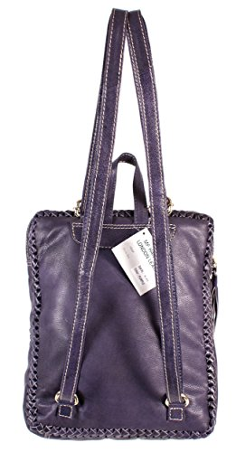 Oxbridge Satchel Shop - Bolso estilo cartera para mujer morado small