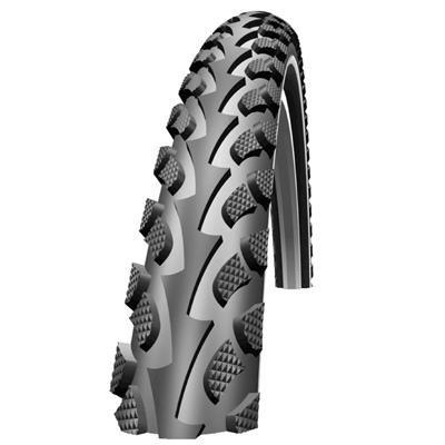 Schwalbe Land Cruiser HS 307 Cruiser Bicycle Tire - Wire Bead - Reflex