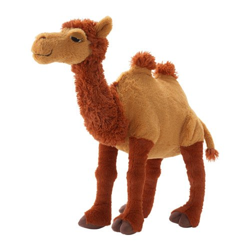 Ikea Camel Stuffed Animal Soft Toy (Riding A Camel)