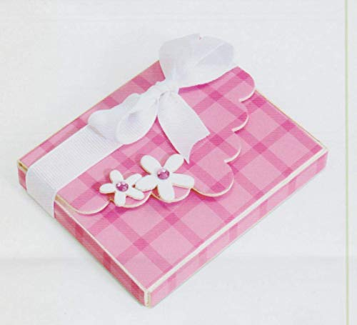 Box w/Scallop Flap & Flowers Die Cut-Outs Cardstock Paper - 20 pieces ()