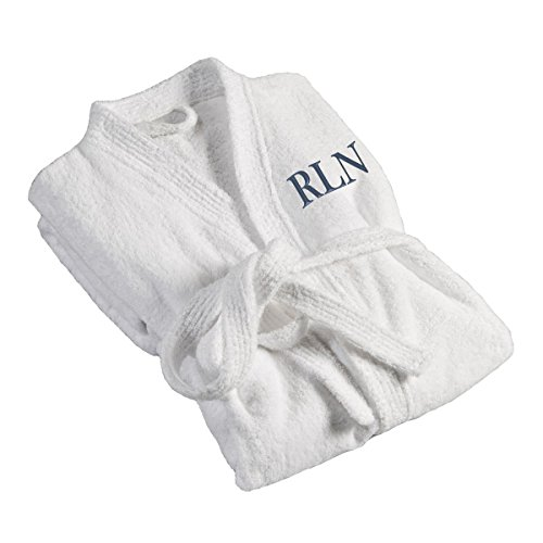 JDS Personalized Men's Bath Robe - Monogrammed Men's Bath...