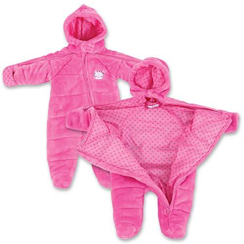 Infant Newborn Kitty EZ Off Jacket - Pink 12 Months
