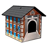 Chateau Looey New York Brownstone Litter Box Cover, My Pet Supplies
