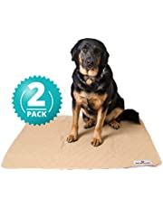 Pet Parents Pawtect Pads Washable Dog Pee Pads (2pack) of Premium Pee Pads for Dogs, Waterproof Training Pads for Dogs & Reusable Dog Pee Pads! Whelping Pads & Modern Puppy Pads!