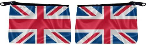 Rikki Knight United Kingdom Flag Design Scuba Foam Coin Purse