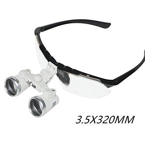 Loupe Ultra - Zorvo Dentist Dental Surgical Medical Binocular Loupes 3.5X 320mm Optical Glass Loupe