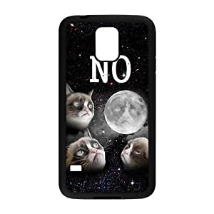 Nymeria 19 Customized Crumpy Cat Diy Design For Samsung Galaxy S5 Hard Back Cover Case DE-337
