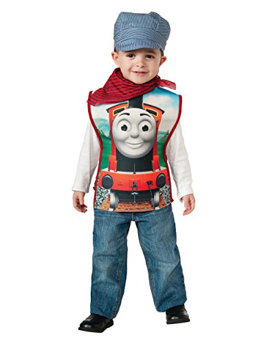 Childs Boys Thomas The Tank Engine Engineer Conductor James Costume