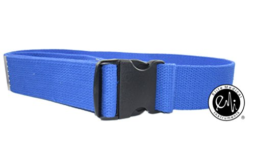 EMI-60-Gait-Transfer-Belt-ROYAL-with-Plastic-Buckle-100-Cotton-624-P-Roy