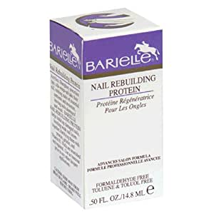 Barielle Nail Rebuilding Protein, 0.5-Ounces