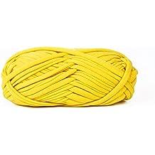 Maypluss Sewing Knitting Crochet Tshirt Yarn 3 Pack-35 Yard(Yellow)