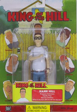 Amazon Com King Of The Hill Hank Hill Action Figure By Toycom