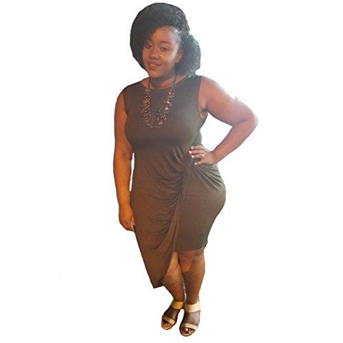 Womens Sleeveless Neck Bodycon Dress product image