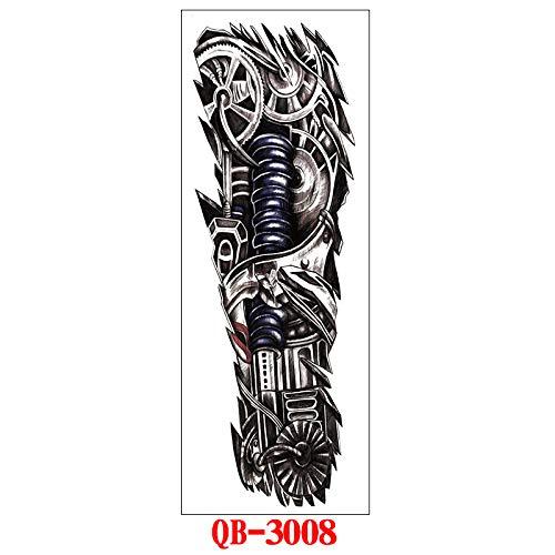 Handaxian 3 Piezas Pegatinas de Tatuaje Conjunto Imagen Grande ...