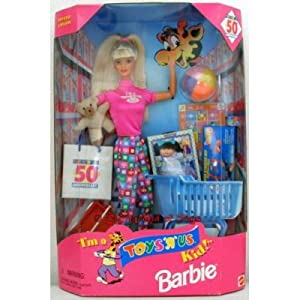 Amazon.com: I'm a Toys R Us Kid Barbie: Toys & Games