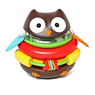 Skip Hop Baby Explore and More Rocking Owl Stacker Toy