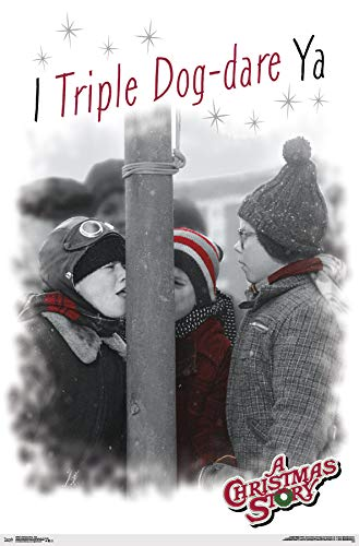 Trends International A A Christmas Story - Pole Wall Poster, Multi