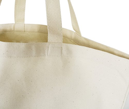ArteCita ECO Fashion, Borsa tote donna beige ecru Taille Unique