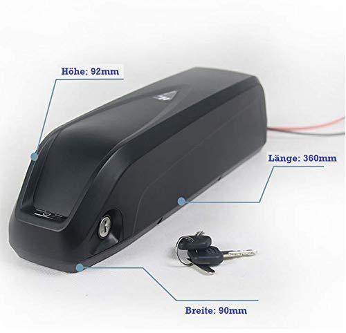 TZIPower Batterie de biberon 48 V 13 Ah Samsung cellules Hailong Extra Fine pour Bicyclette électrique avec Batterie Lithium-ION  -