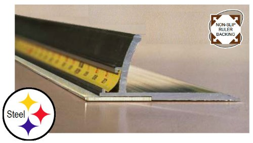 Pro Steel Safety Ruler - 28