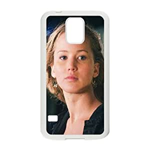 Samsung Galaxy S5 Phone Case White Jennifer Lawrence Natural Film Girl Face VN4P3YXW Design My Own Phone Case